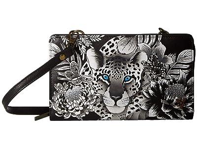 Anuschka Handbags Cell Phone Crossbody Wallet 1149 (Cleopatra