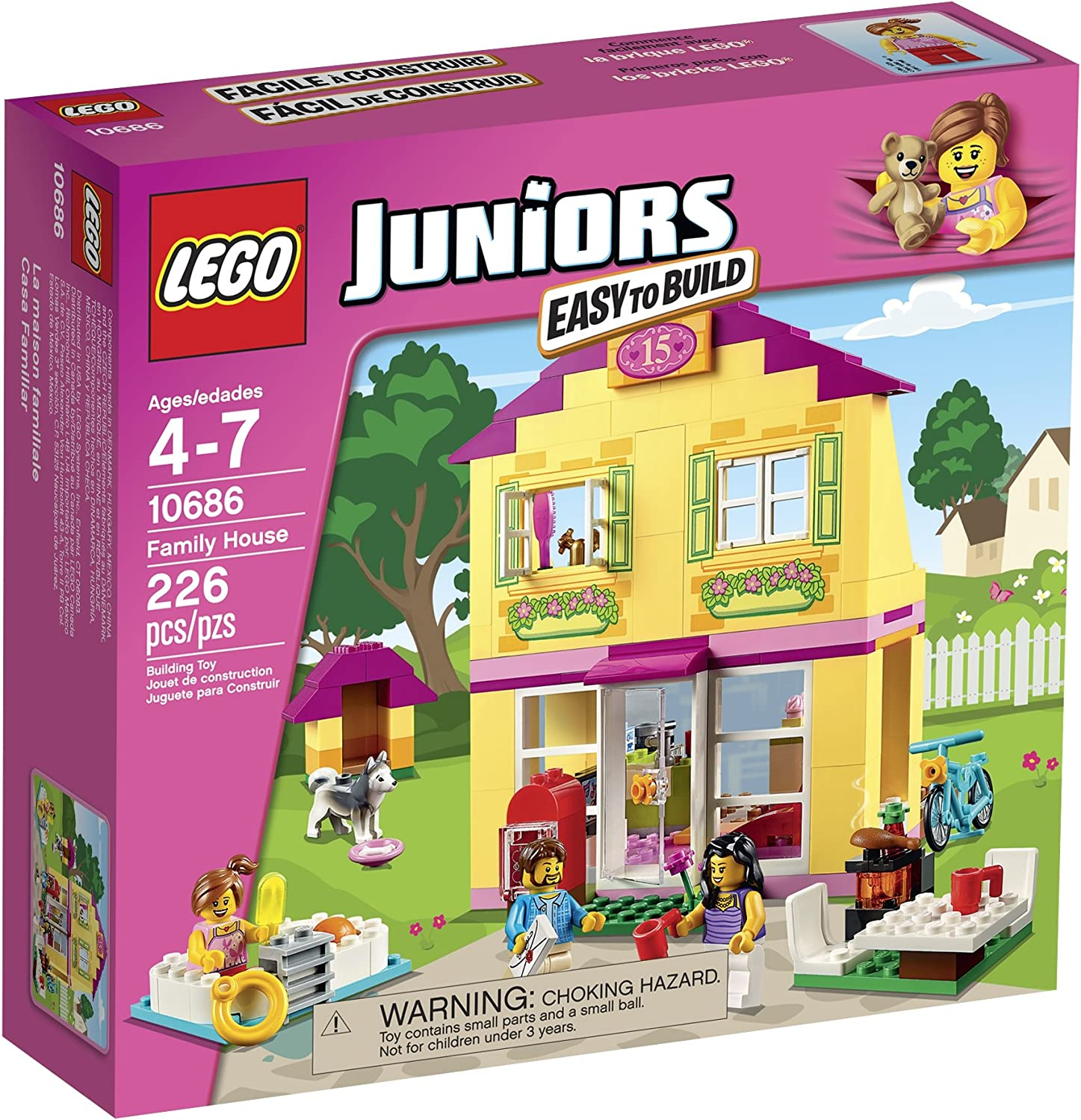LEGO Juniors 10686 Family House Building Kit by LEGO Juniors