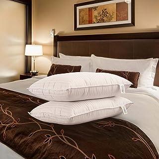 Snoopy Ultra Premium Satin Pillows ,( Set of 2 , 17x27 Inches, Satin Stripes)