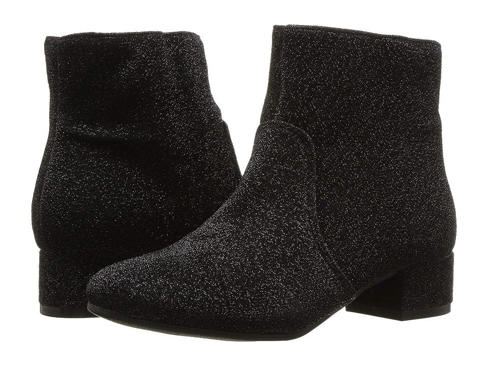Nine West Kids Alexius (Little Kid/Big Kid) (Black Sparkle) Girls Shoes