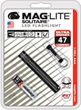 Maglite Solitaire LED 1-Cell AAA Flashlight Black