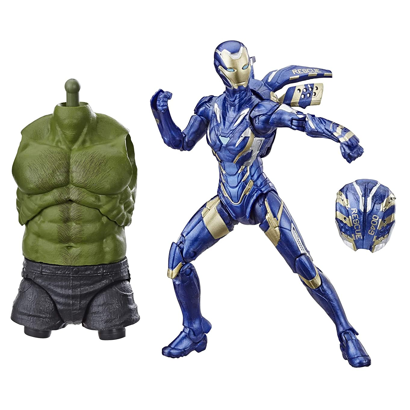 Avengers Marvel Legends Series Endgame Marvel's Rescue 6-inch Collectible Action Fig