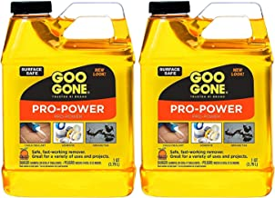 Goo Gone Pro-Power - 32 Ounce 2 Pack - Professional Strength Adhesive Remover, Removes Stickers, Tape, Grease and More