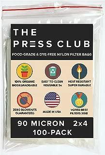 90 Micron   Premium Nylon Tea Filter Press Screen Bags   2