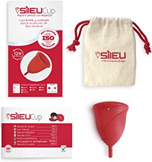 comprar comparacion Copa Menstrual Sileu Cup Rose - Modelo de iniciación sencillo de colocar - Ayuda a prevenir infecciones urinarias y la cis...