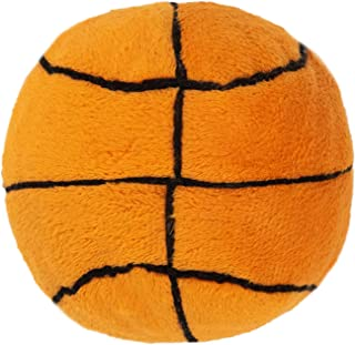 Outward Hound Squeaky Sports Ballz - Soft Interactive Dog Toy - Bouncy Dog Ball with Soft Plush Cover