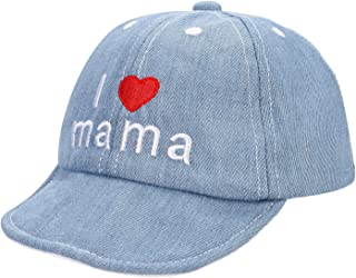Boys Girls Cotton Baseball Cap Sun Protection Spring Summer Anti UV Sun Hats Embroidered Caps Flat Hat Travel Cap for Baby...