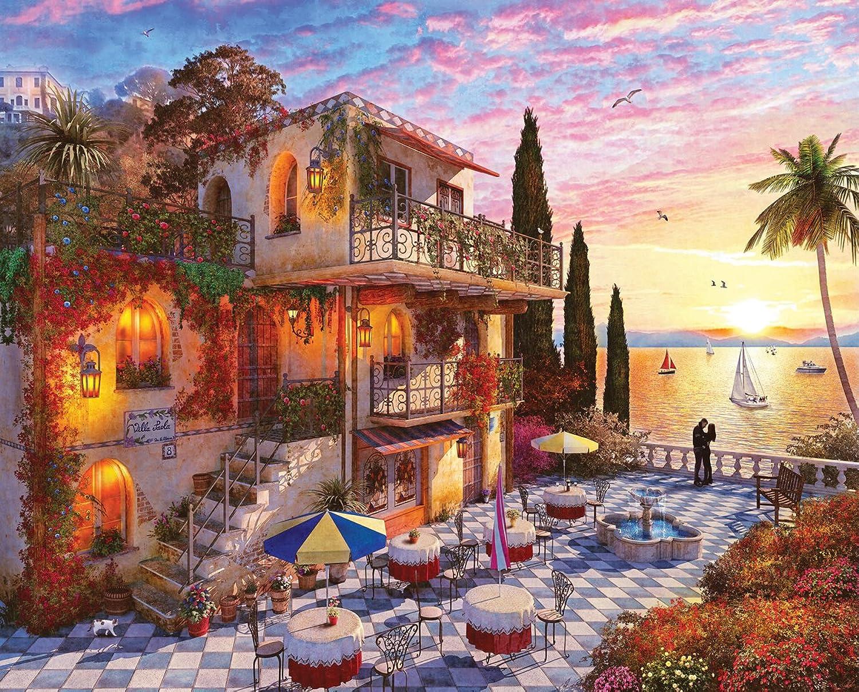 Springbok Puzzles Mediterranean Romance 1000 1000 1000 Piece
