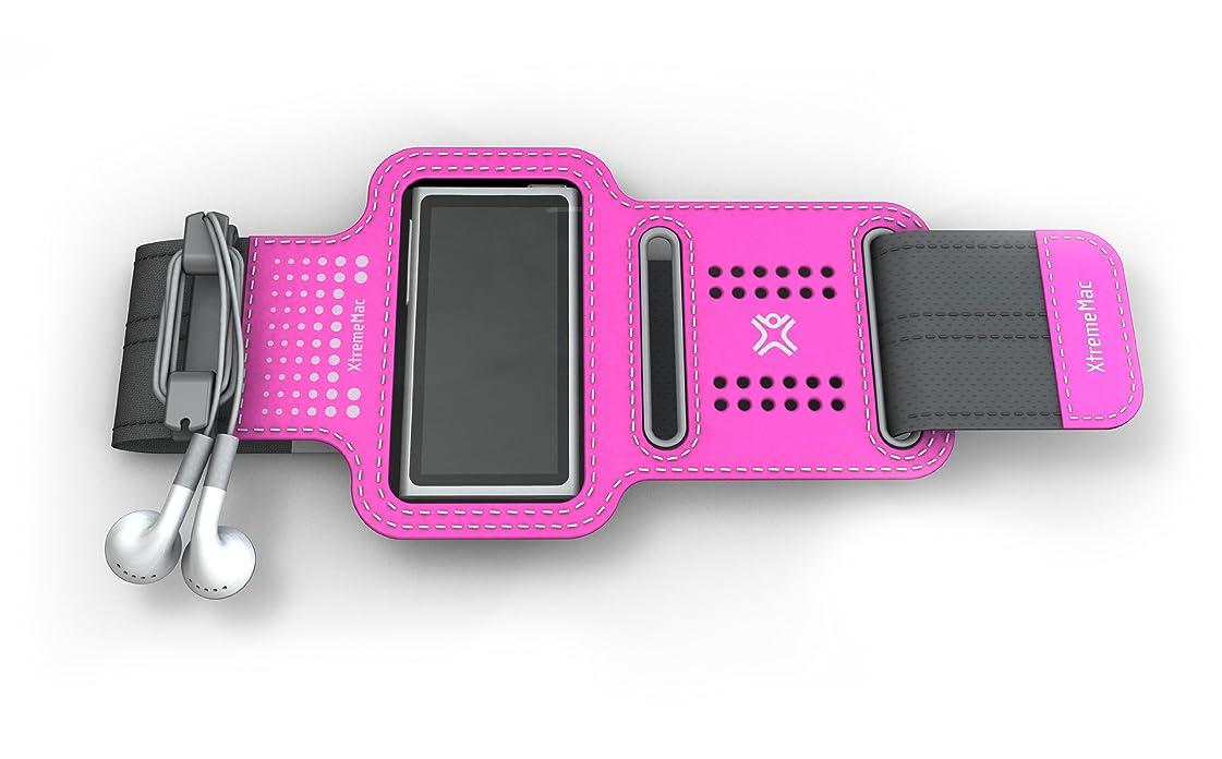 まぶしさ予防接種変更XtremeMac iPod nano(第7世代)対応 軽量スポーツアームバンド スポーツラップシリーズ ピンク IPN-SPN-33
