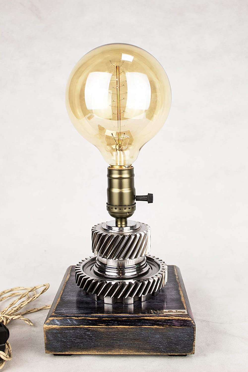 Cash special price Industrial Animer and price revision Table Lamp PrideJoy steampunk Gift part for lamp car