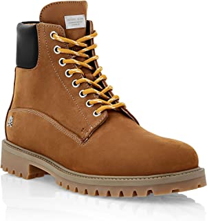Philipp Plein Masculin Nabuk Boots Low Flat The Hunter
