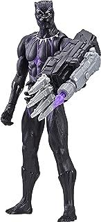 Boneco Titan Pantera Negra Avengers Preto