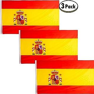 QCM Bandera Espa/ña Balcon 100x70 cm Personalizada