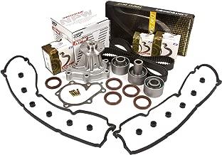 Evergreen TBK180MVCN Fits 90-96 Nissan 300ZX Non & Turbo VG30DE Timing Belt Kit Valve Cover Gasket NPW Water Pump