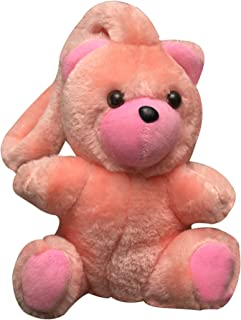 Myesha Toys Super Soft Plush Toy (Car Hanging Pink Color Teddy Bear)