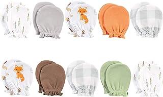 Hudson Baby Unisex Baby Cotton Scratch Mittens