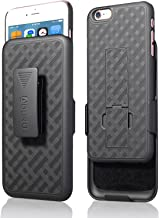 iPhone 6S Plus / 6 Plus (ONLY) Case, Aduro Combo Shell & Holster Case Super Slim..