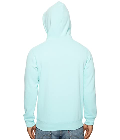 HUF Bar Logo Pullover Hoodie Celadon Buy Cheap Wholesale Price For Nice Cheap Online h0Y6HxgW