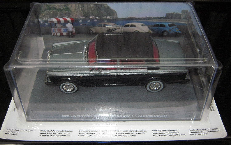 007 James Bond Car Collection  134 RollsRoyce Silver Shadow (Moonraker)
