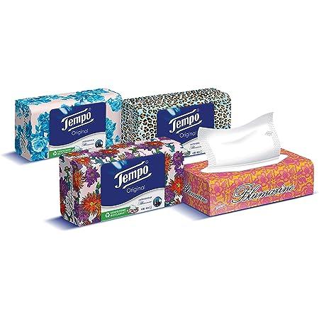 porta carta tessuto decorativo confezione da 2 scatole quadrate per fazzoletti facciali Huante scatola di paglia per fazzoletti