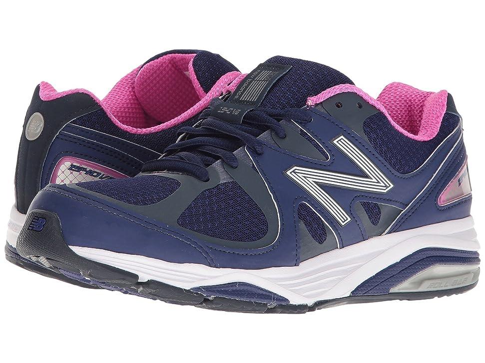 壊滅的なアスレチックオフセット(ニューバランス) New Balance レディースランニングシューズ?スニーカー?靴 W1540v2 Basin/UV Blue 11 (28cm) EE - Extra Wide