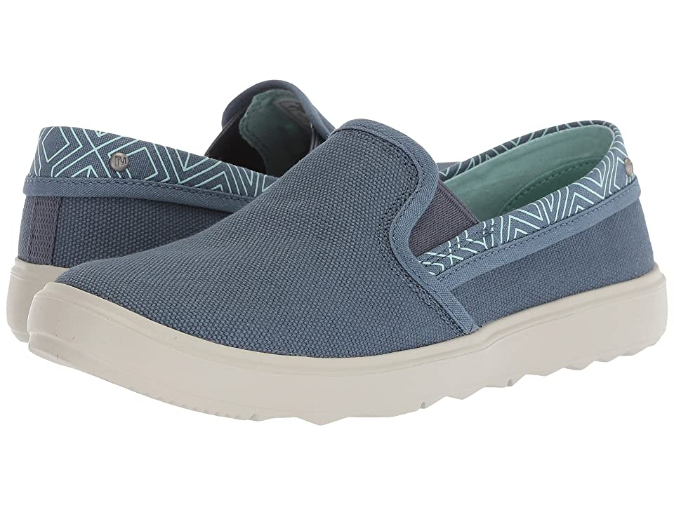 Merrell Around Town City Moc Canvas (Bering Sea) Women