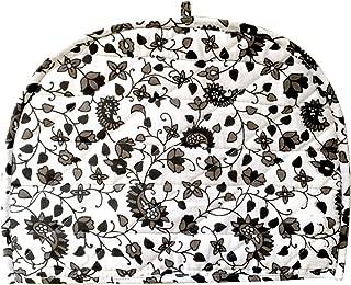 AUNERCART Black White Cotton Handmade Designs Tea Cozy Creative Tea Cosy Indian Mandala Tea Cozies Tea Pot Cover