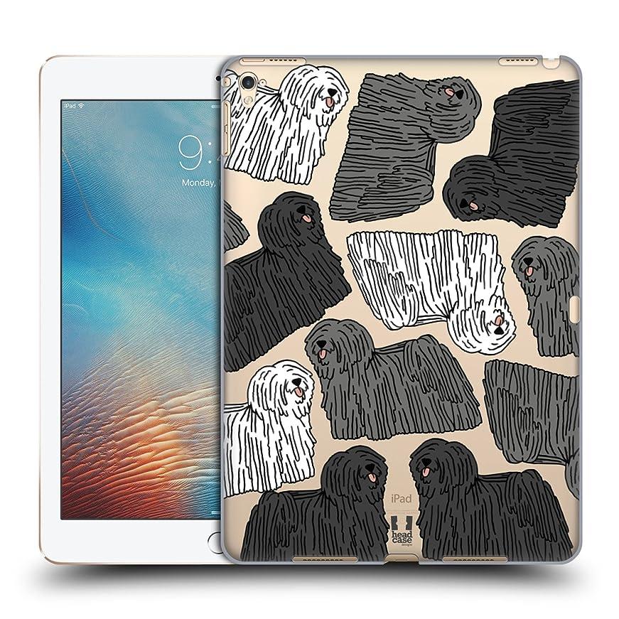 アニメーション光景表面Head Case Designs プーリー ドッグブリード?パターンズ 5 ハードバックケース iPad Pro 9.7 (2016)