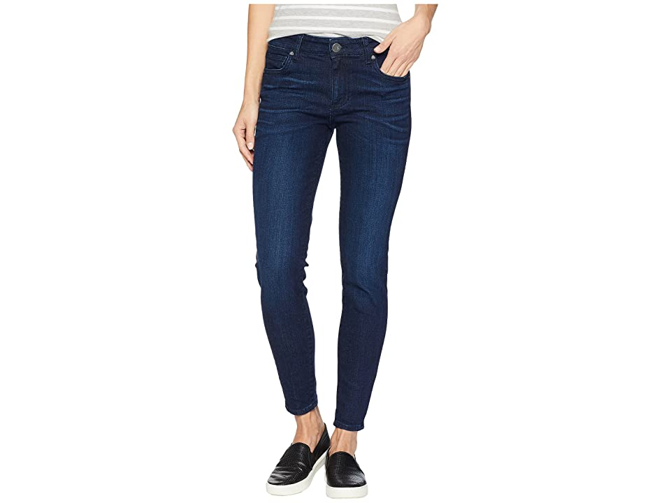 KUT from the Kloth Donna Ankle Skinny Jeans in Influential (Influential/Euro Base Wash) Women