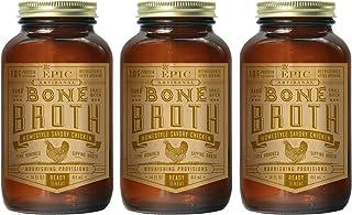 Sponsored Ad - Epic Artisanal Bone Broth, Homestyle Savory Chicken, 14 oz. (3 Pack)