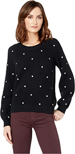 6ba58ee96745c Lucky Brand. Solstice Canyon Shirred Bandini.  84. Polka Dot Sweater
