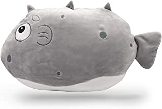 "Ludabub Cuddle Fish Stuffed Animal Super Soft Cute Plush Toy 17"" - Best Gift for Kids Girls and Boys (Bubblybub)"