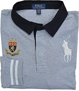 Polo Ralph Lauren Girls Big Pony Long Sleeve Mesh T-shirt Large 12-14 yrs Navy