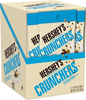 HERSHEY'S Cookies 'n' Creme Crunchers Candy, 14.4 Ounce