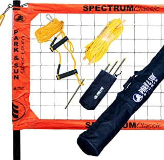 Park & Sun Sports Spectrum Classic: Portable Professional Outdoor Volleyball Net System