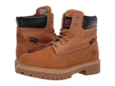 Timberland PRO Direct Attach 6 Steel Safety Toe (Wheat) Men
