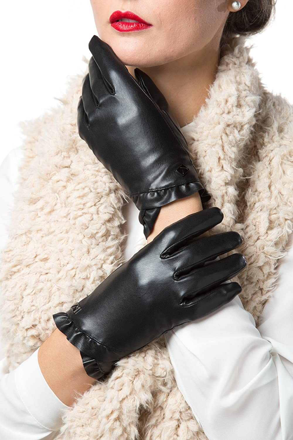 GALLERY SEVEN Women's Winter Gloves Warm Touchscreen Driving Texting Ladies Gloves