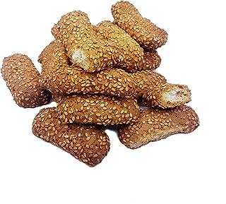 sesamzaadkoekjes Regina (gr. 750). RAREZZE: AMBACHTELIJK koekjes, typisch Siciliaanse producten, cannoli, amandelspijs, ca...