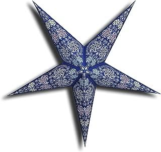 GalaxyArts - Chakra (Blue, Big) - Paper Star Lantern - Handmade