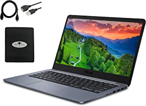 "2021 ASUS 14"" HD IPS NanoEdge Thin and Light Laptop for Student, Intel Celeron N4000 up to 2.6GHz, 4GB DDR4, 64GB eMMC, In..."