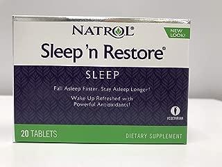 Natrol Sleep n Restore 20 Tablets (Pack of 5)