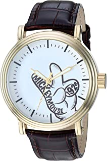 Best mickey mouse leather watch Reviews