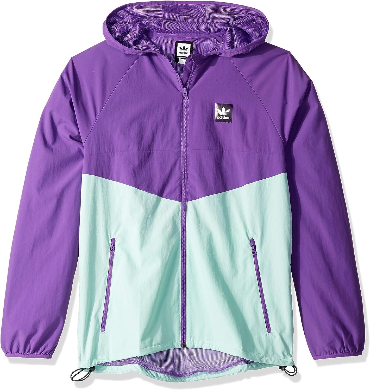 adidas Originals Men's Dekum Packable Wind Jacket