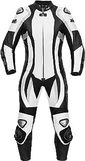 XLS Lederkombi Daytona Lady/Damen Einteiler in schwarz weiss (38)