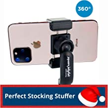 Square Jellyfish Jelly Grip Tripod Mount | 360 Degree Swivel Squeeze Grip Compatible with All iPhone 11 and Android (Mount Only)