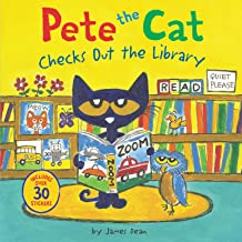 Pete the Cat Checks Out the Library