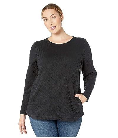 Columbia Plus Size Sunday Summittm Pullover (Black) Women