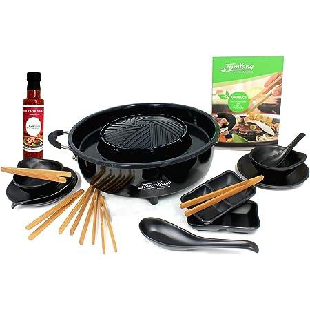 TomYang Professional. L'original de tomyang Thai Grill & Hot Pot avec un livre de cuisine, un 10 pièce-set de vaisselle et épices