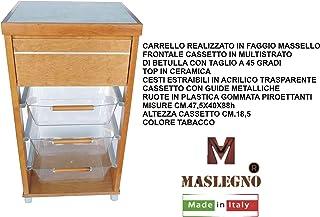 Sedia Sdraio Poltrona Allegra Legno Noce Cuscino Beige CM.60X73X110H con PROLUNGA Cucina Sedia TRASPORTABILE Ovunque Made in Italy