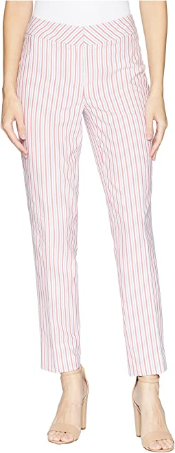 Skinny Seersucker Pants
